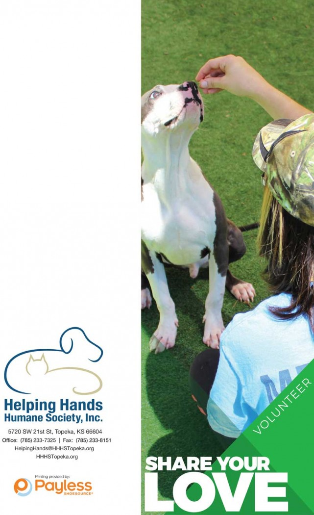 HHHS Volunteer Brochure cover Volunteer