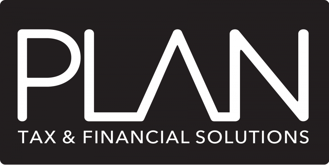 PLAN Logo Tax   Financial Solutions black bg